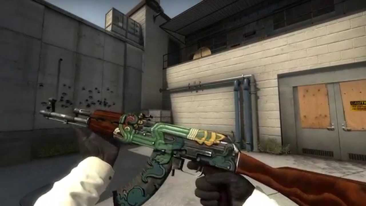 Ak 47 Fire Serpent Factory New Cs Go Skin Showcase Youtube