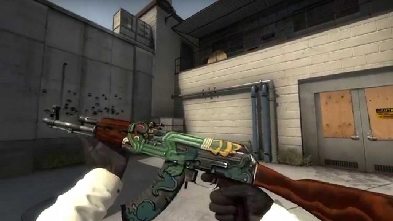 AK-47 Fire Serpent - Factory New - CS:GO Skin Showcase - YouTube