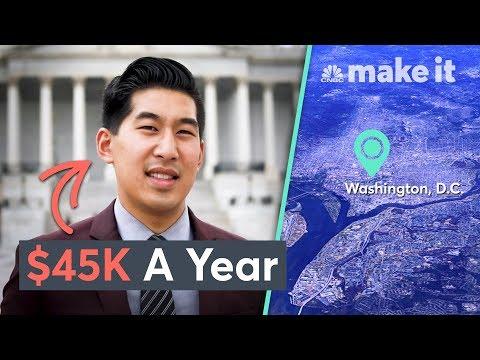 Living On $45K A Year In Washington, D.C.   Millennial Money