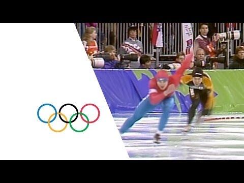 Sergey Klevchenya Speed Skating Highlights | Lillehammer 1994 Winter Olympics