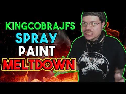 KingCobraJFS Spray Paint MELTDOWN