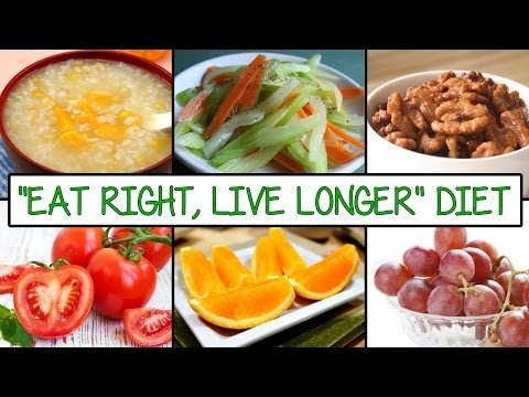 10 Foods that Extend Your life