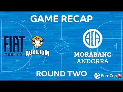 Highlights: Fiat Turin - Morabanc Andorra