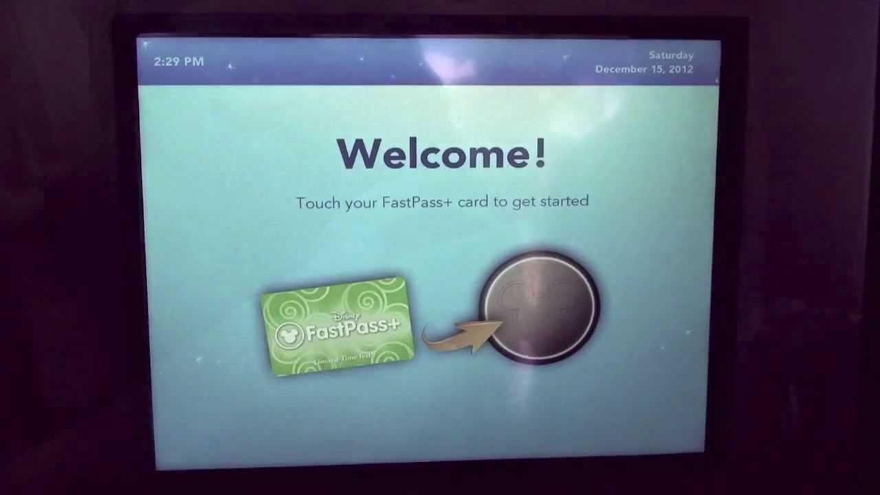 FastPass+ Test At Magic Kingdom In Walt Disney World   FastPass Plus