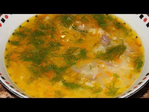 Как сварить суп из пшена