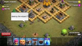 Clash of Clans Level Point Man Attack Strategy