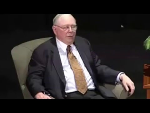 A Conversation with Charlie Munger  - Caltech
