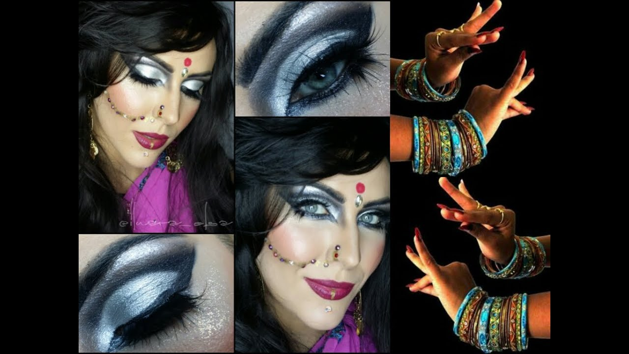 Bollywood belly dance makeup for halloween youtube baditri Image collections