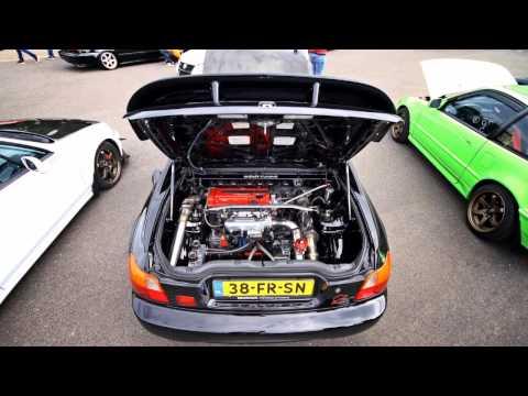 RWD Mid Engine Del Sol Action Vids 2015
