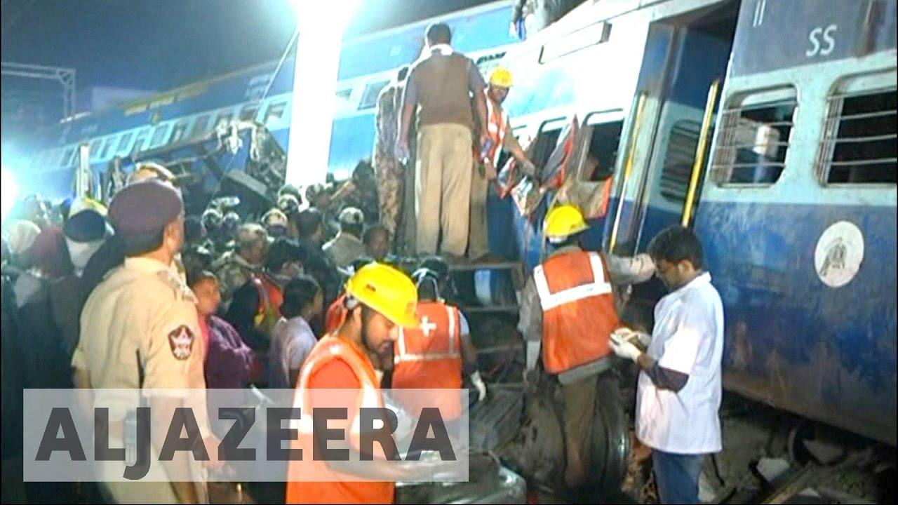 India: Broken rail tracks 'caused' Andhra Pradesh train crash
