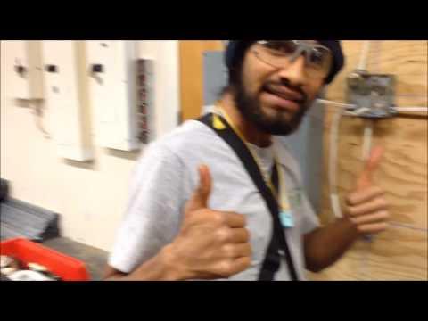 Vegan Electrician @ LATTC 4th Semester Electrical Program LAB Project 1 part 1