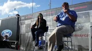 NASCAR Richmond Danica Patrick Q&A sept.9,2017