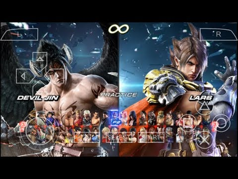 Cara Download Dan Install Game Tekken 7 Mod PPSSPP Android