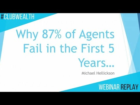 Why 87% of Real Estate Agents Fail in the First 5 Years