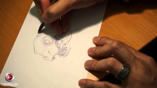 Skylanders Trap Team - Drawing Chopper with I-Wei Huang