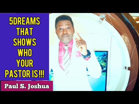 DREAMS ABOUT EXAMS!!! Dr Paul S Joshua from YouTube · Duration:  12 minutes 56 seconds