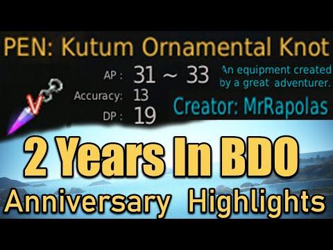PEN Kutum!! 2 Year Anniversary In Black Desert Online Stream Highlights!!