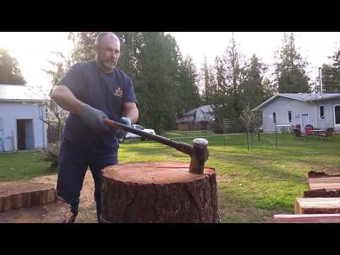 Splitting Douglas Fir