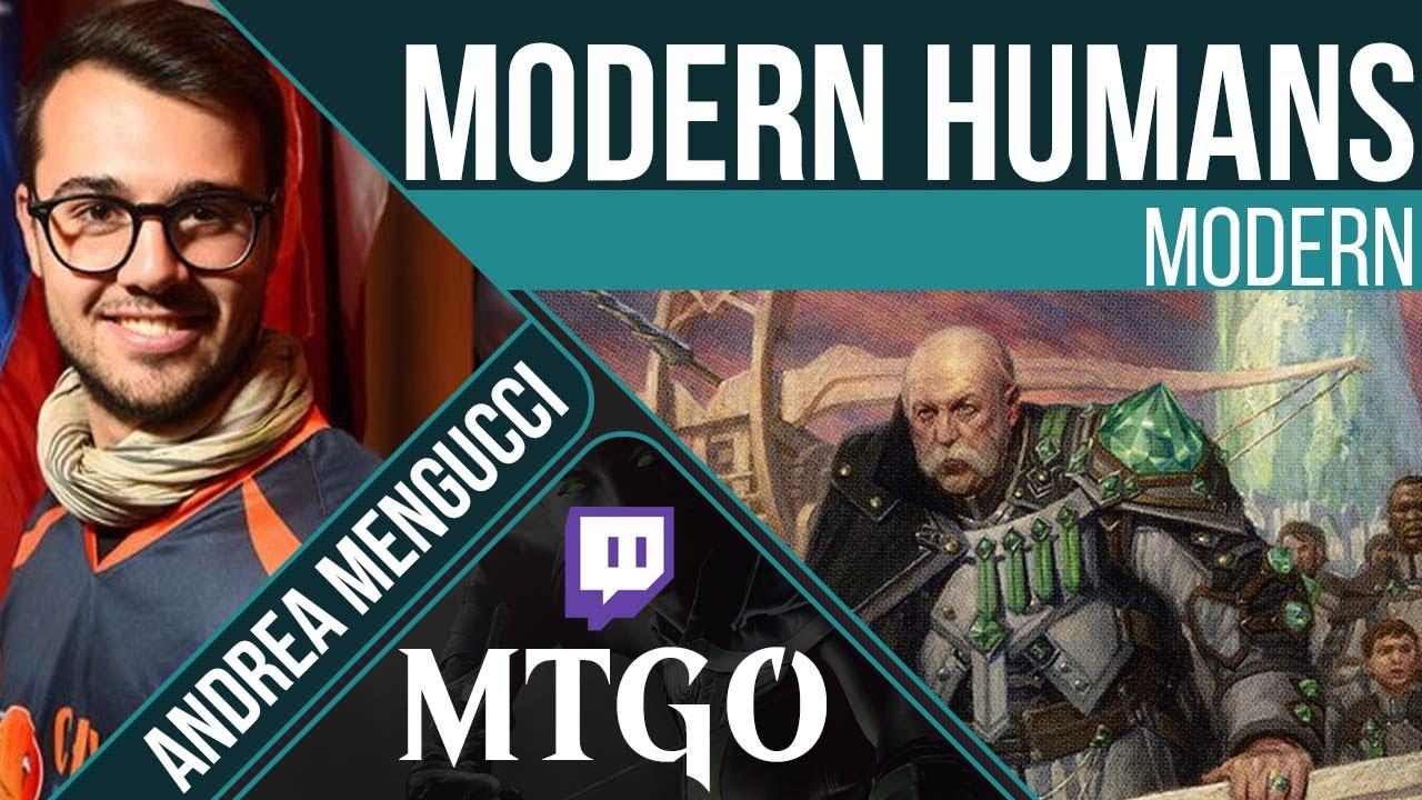 Humans Modern Mtg Andrea Mengucci Channelfireball Magic The Gathering Strategy Singles Cards Decks