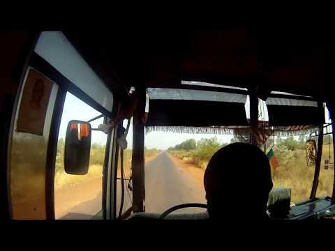 Bus trip from Bamako to Segou