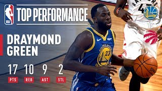 Draymond Green Stuffs The Stat Sheet | NBA Finals Game 2