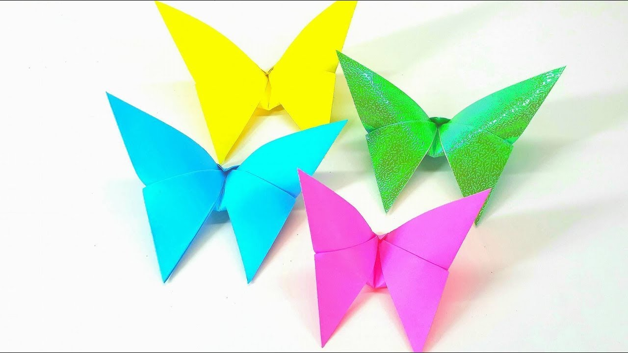 Origami Butterfly Series #2: Alexander Swallowtail Instructions ... | 720x1280