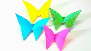 Origami Tutorial - How to fold an Easy Origami Butterfly