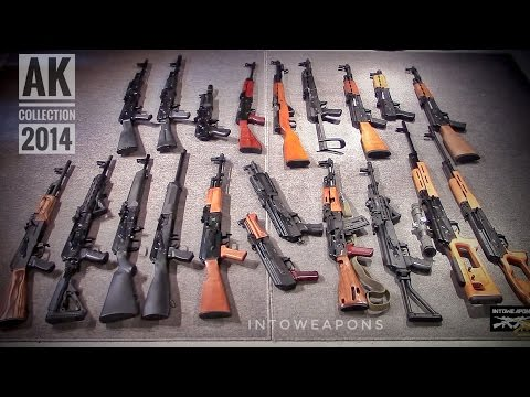AK-47 Collection Overview:  IntoWeapons 2014