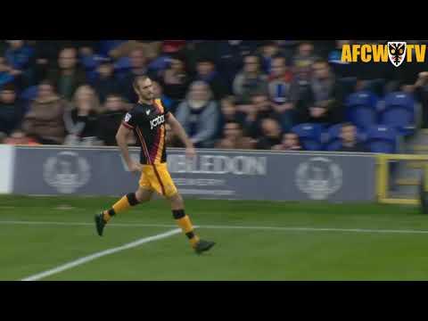 New signing James Hanson's goals against AFC Wimbledon