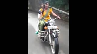 Girl Riding Bullet