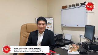 Prof. Dato' Dr. Tan Hui Meng - Dokter Saluran Kemih & Kesehatan Pria   CariDr.com