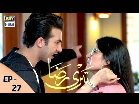 Teri Raza - Episode 27 - 4th January 2018 - ARY Digital Drama