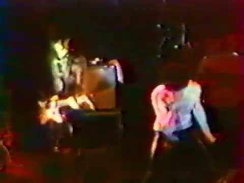 The CRAMPS (with Kid Congo) - Live Salle de la Cité - Rennes (06/17/1981).