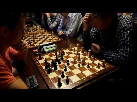 Blitz chess: GM Alexei Shirov - Vadims Bolsakovs,  Caro-Kann