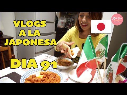 """Nuestra Cena Mexicana """"VIVA MEXICO"""" JAPON - Ruthi San ♡ 15-09-15"""