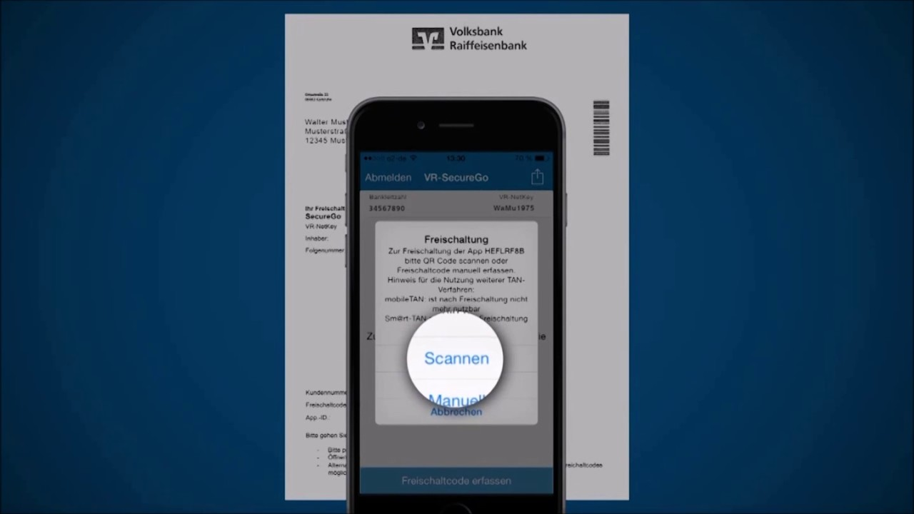 Volksbank Mobile Banking Securego Tan App Volksbank