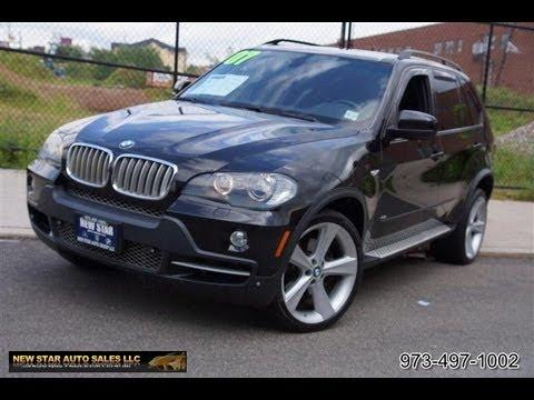 BMW XSeries X I Rear Entertainment YouTube - 2007 bmw x5 4 8i for sale