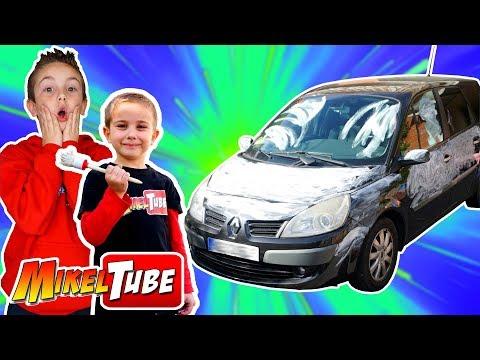 Pintamos el coche de la familia y presentamos el concurso Hotwheels