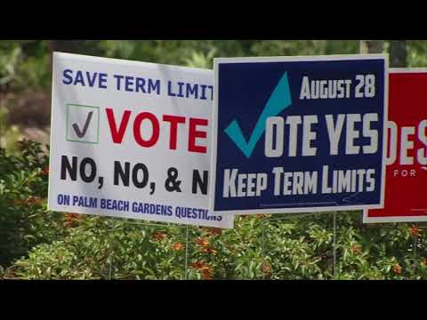 palm beach gardens sued over election sign youtube