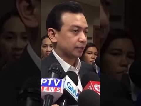 Sen Antonio Trillanes Interview February 27 2017