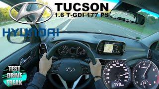 2020 Hyundai Tucson 1.6 T-GDI FWD 177 PS TOP SPEED AUTOBAHN DRIVE POV