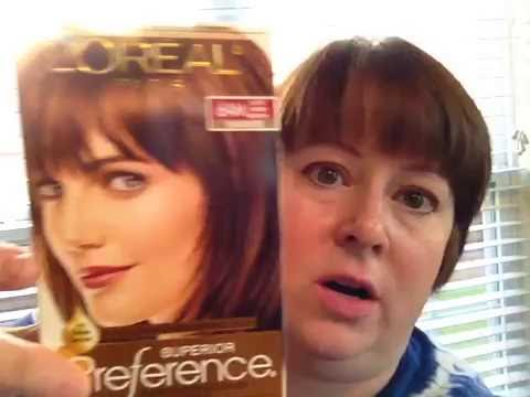 L Oreal Paris Superior Preference Hair Color 6am Light Amber Brown Results You