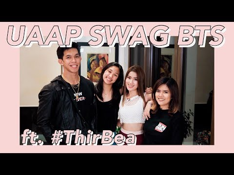 UAAP Swag BTS with ThirBea! | Janeena Chan