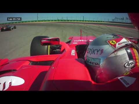 2017 United States Grand Prix   Best Onboards
