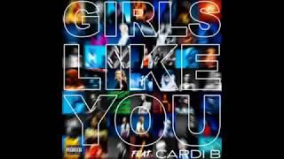 Maroon 5 - Girls Like You 1 Hour