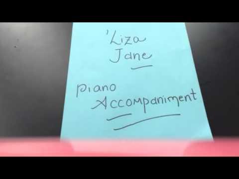 'Liza Jane- piano accompaniment