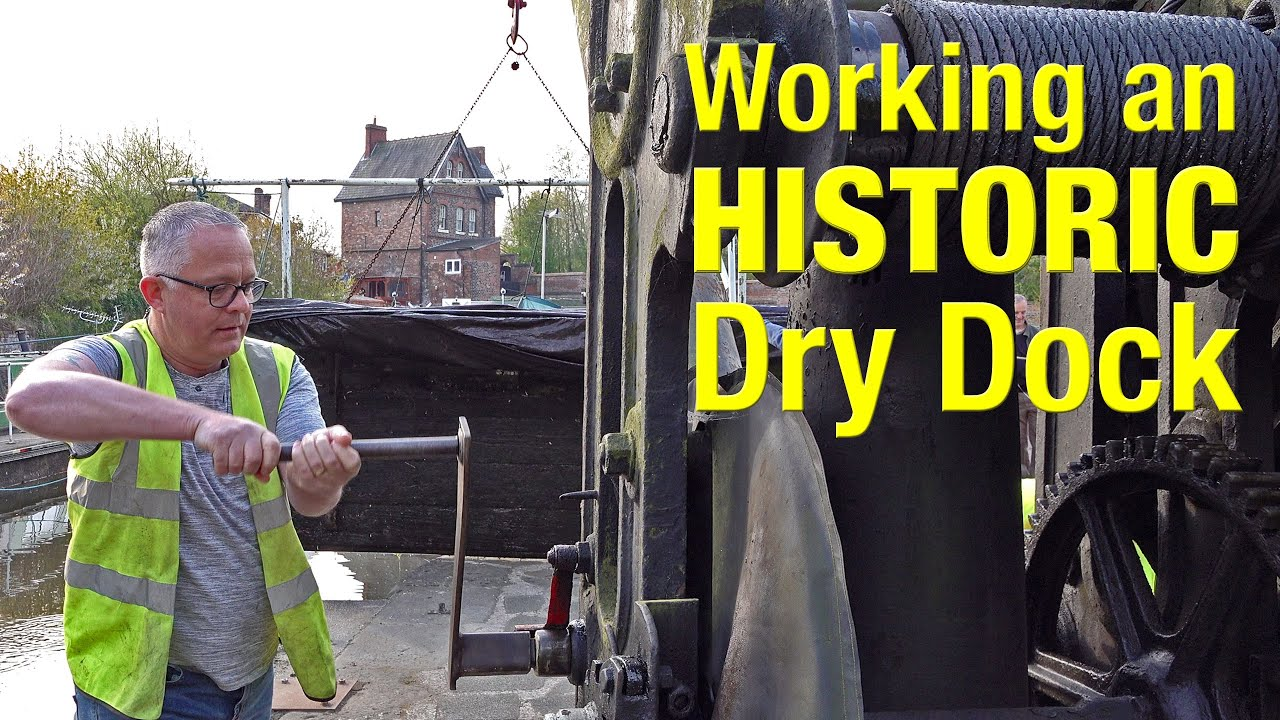 Earning our keep working the HISTORIC Sprinch Dry Dock.