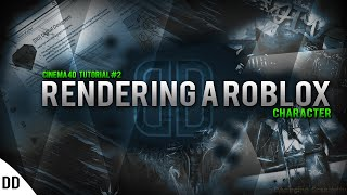 Cinema 4D Tutorial #2 Rendering a ROBLOX Character
