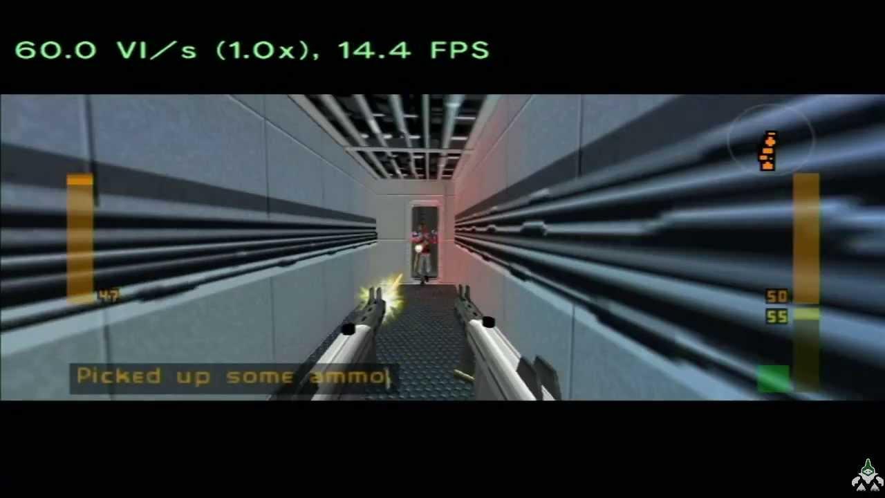 38 Minutes Of Goldeneye X 5b On Not64 Emulator For Wii - N64
