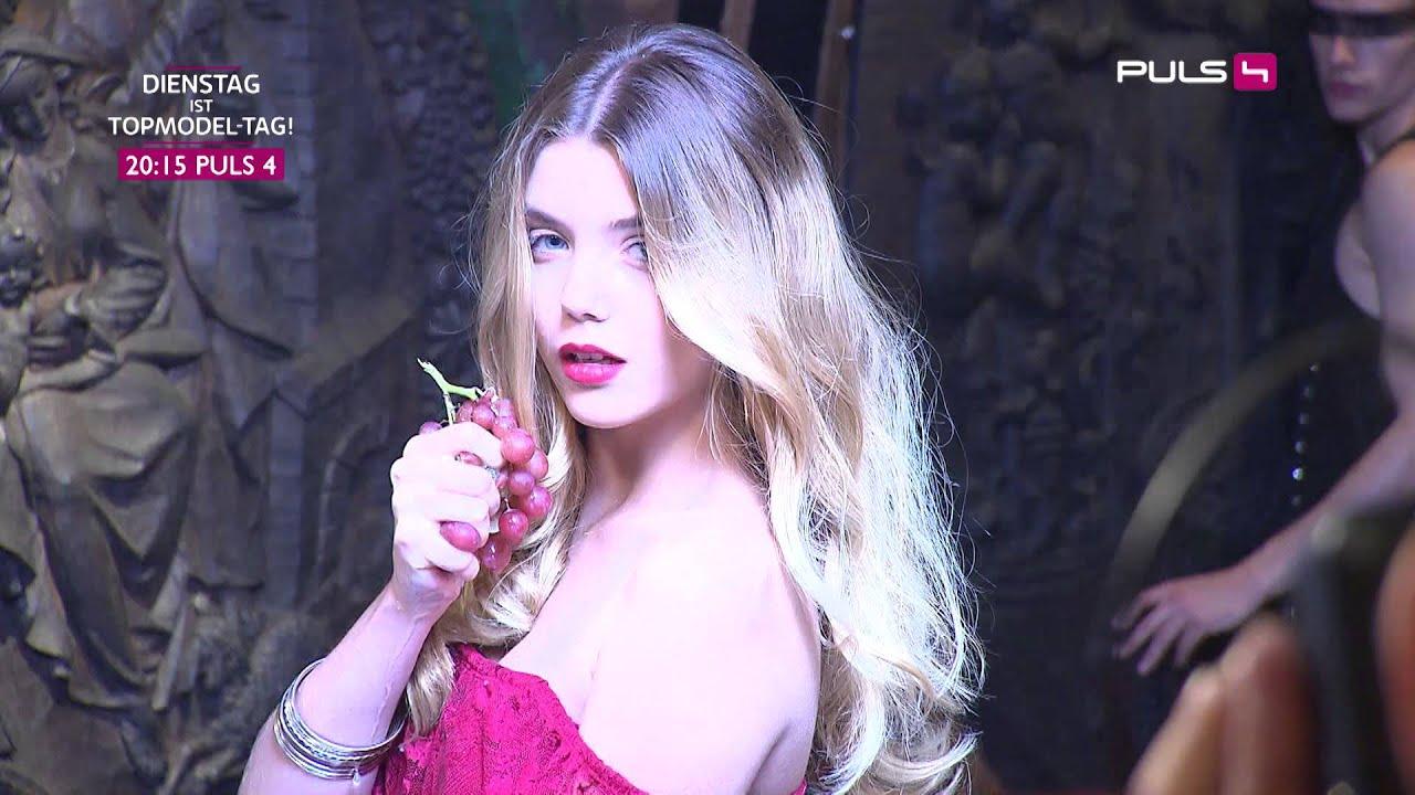 Austrias Next Topmodel: Foto-Shooting bei Lenz Moser